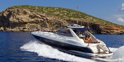 Ibiza Sunseeker yacht special