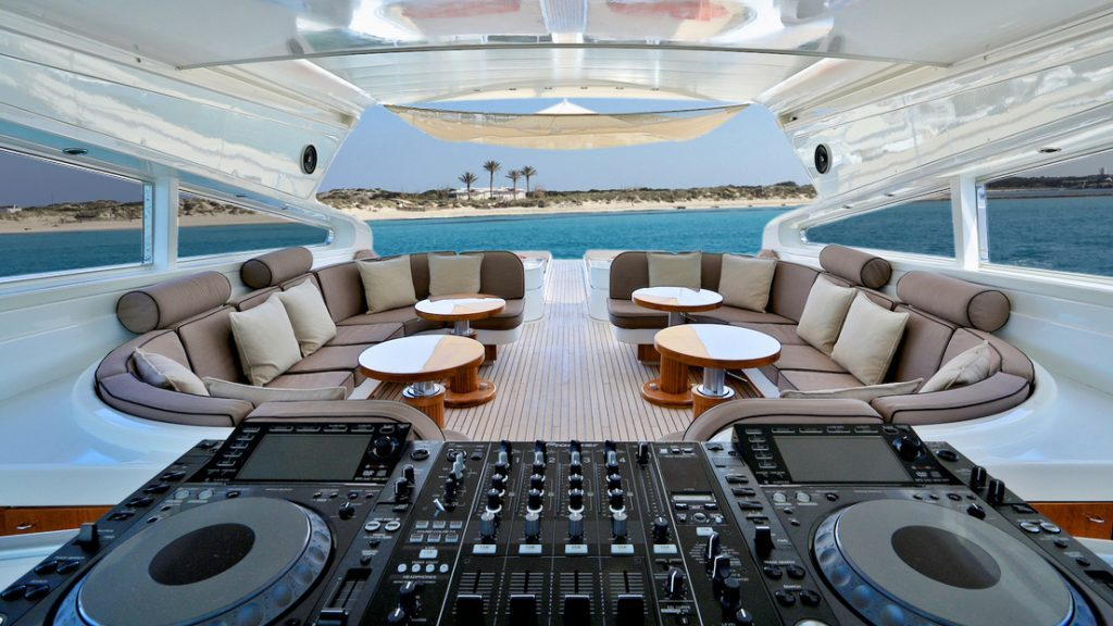 Ibiza yacht charter & champagne summer special